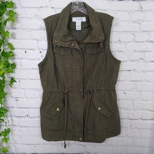 Sebby women's vest large